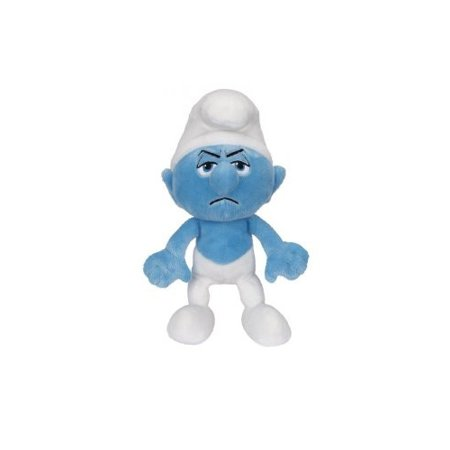 The Smurfs Series 1 8 inch Grouchy Smurf Bean Bag