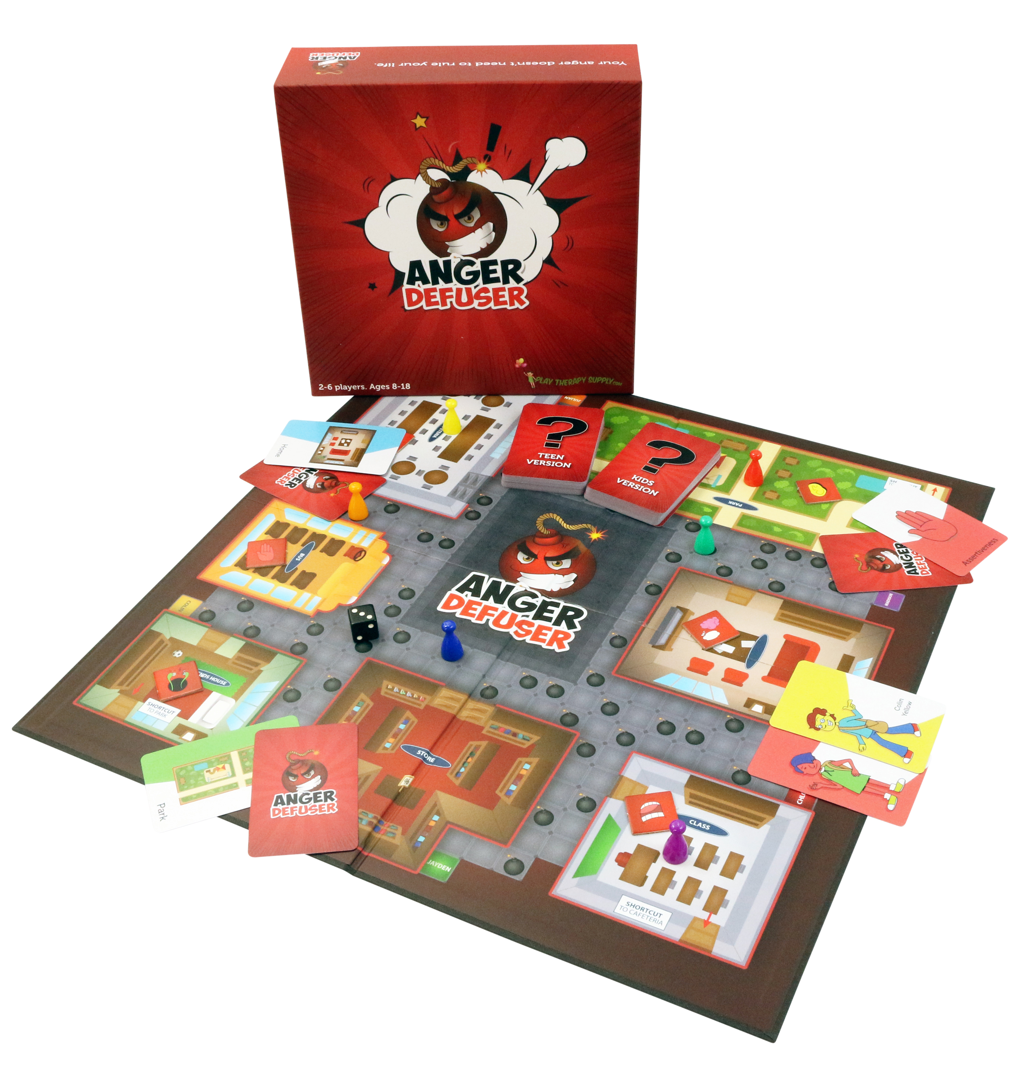 Anger Defuser: The Fun Anger Management Game for Kids and Teens