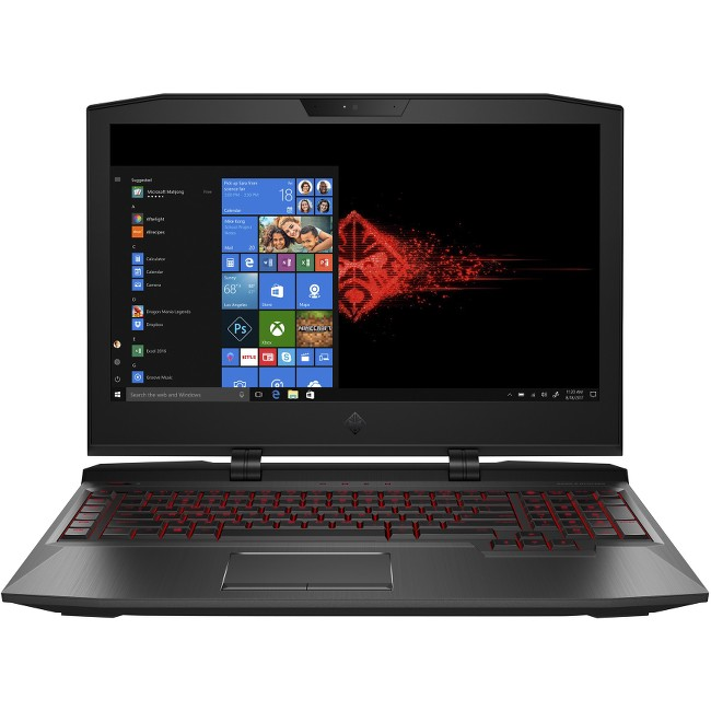 "HP OMEN X 17-ap020nr Gaming Laptop 17.3"", Intel Core i7-7820H, NVIDIA GeForce GTX1080 8GB, 1TB HDD + 256GB SSD, 16GB RAM, 2LV60UA#ABA"