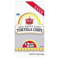 Better Made Special 100% White Corn Tortilla Chips, 11 Oz.