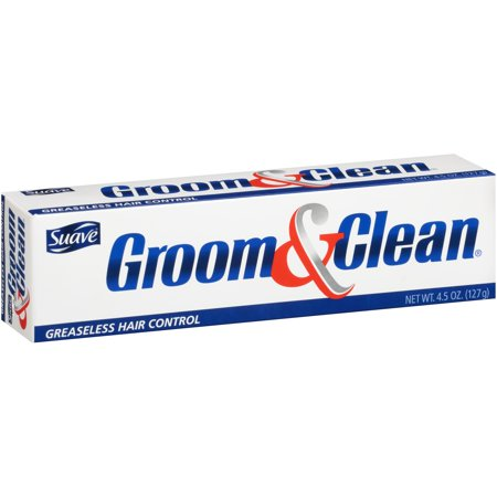 - Suave Groom & Clean Greaseless Hair Control 4.5 oz. Box