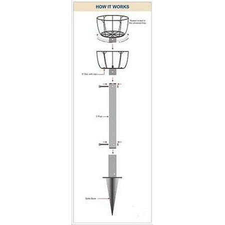 Border Kit (PAMELA CRAWFORD'S BORDER COLUMN KIT W/ METAL POST)