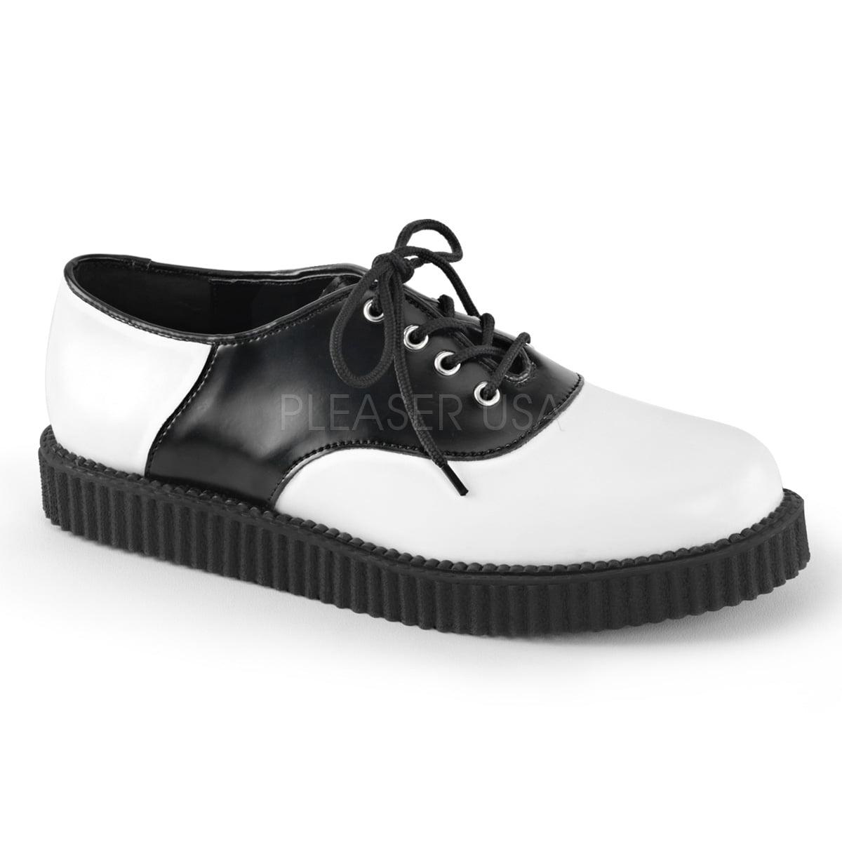 Demonia Creeper 606 Saddle Creeper Economical, stylish, and eye-catching shoes