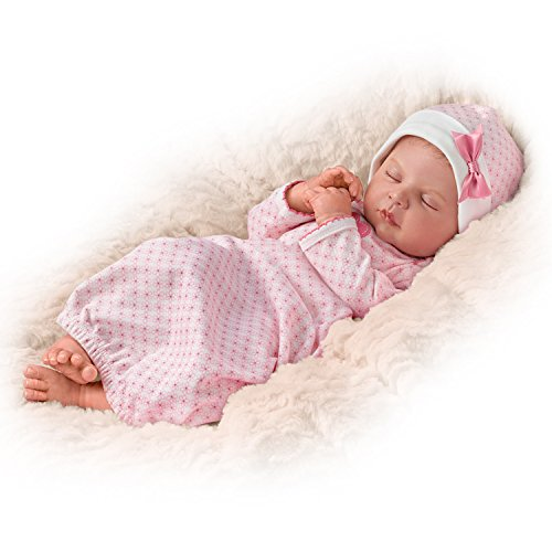 Ina Volprich TrueTouch Silicone Lifelike Baby Doll That B...