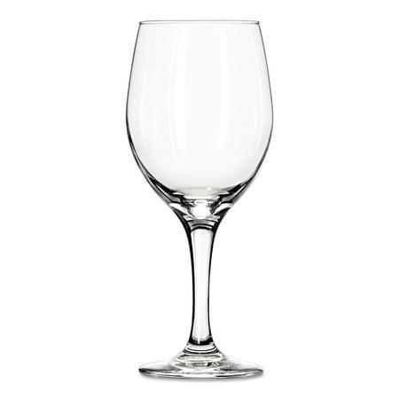 Libbey Perception Glass Stemware Clear Wine Glasses, 20 oz, 12 count ()
