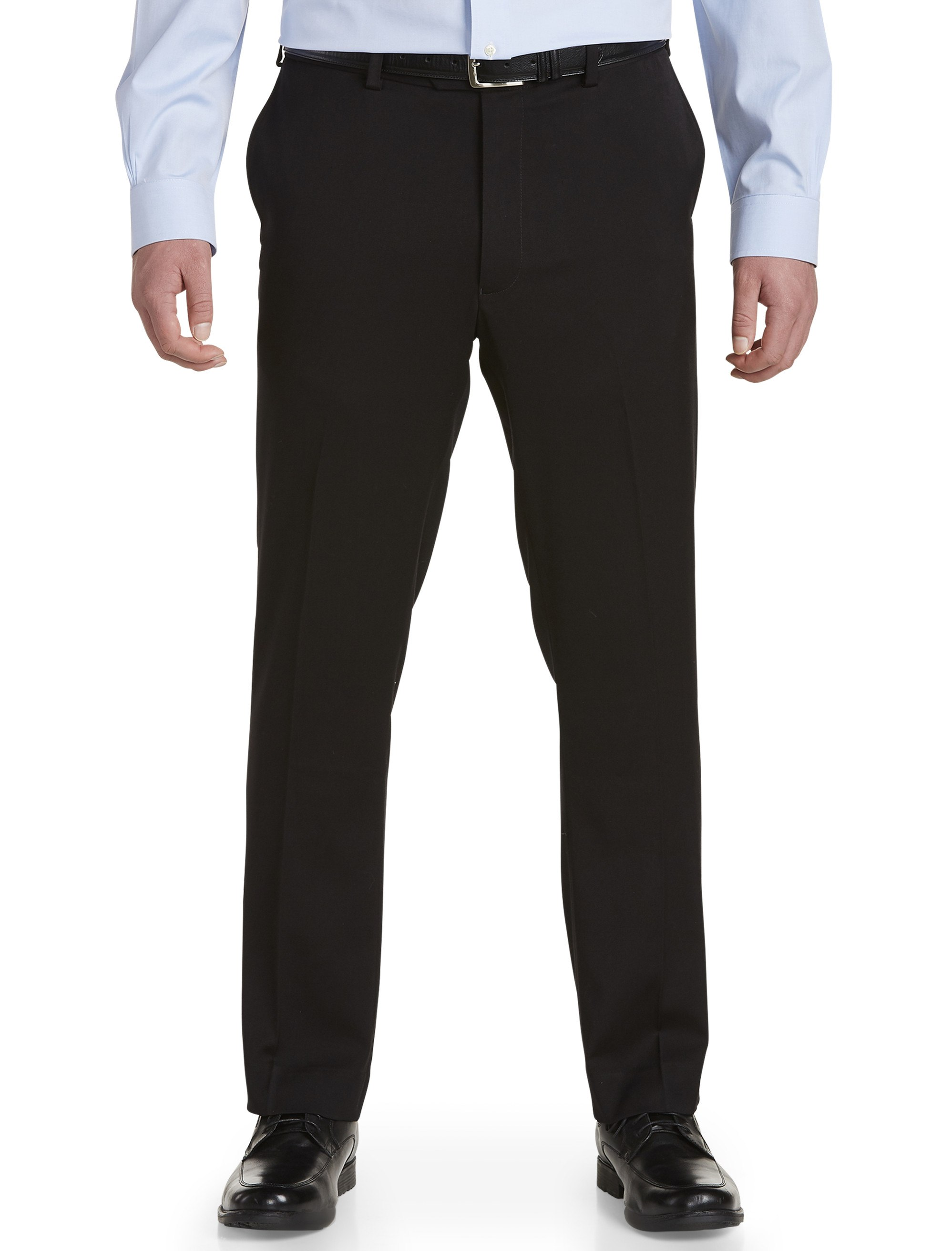 men's big & tall gold series perfect fit waist-relaxer suit pants