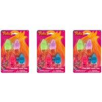 (3 Pack) Trolls Ring Party Favors, Assorted, 4ct