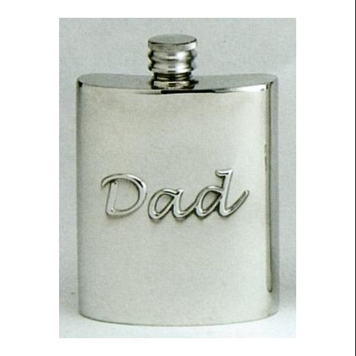 Dad Fine English Pewter Flask