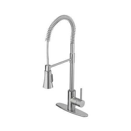 Homewerks Worldwide Import 179919ca Industrial Kitchen Faucet With 2