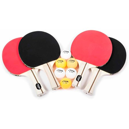 STIGA Performance 4-Player Table Tennis Set - Walmart.com