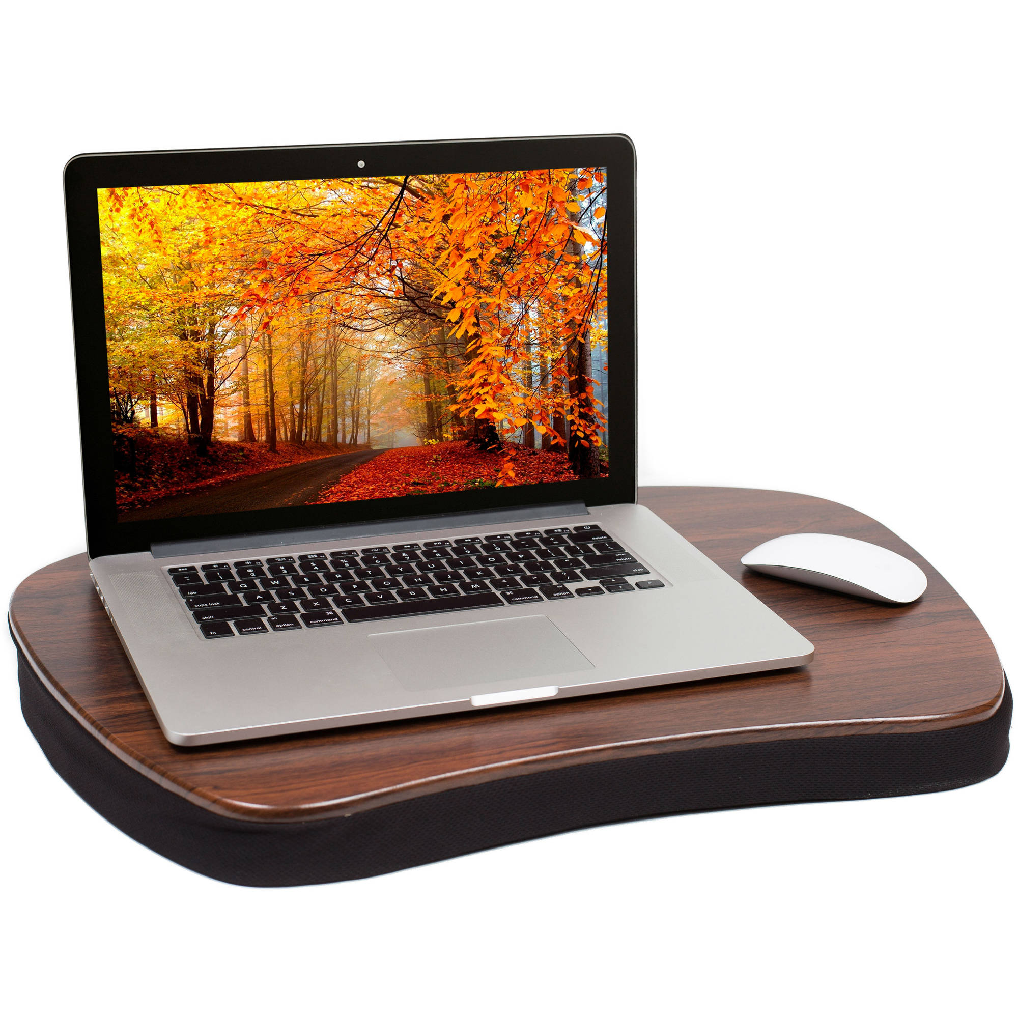 Sofia+Sam Oversized Memory Foam Lap Desk, Black