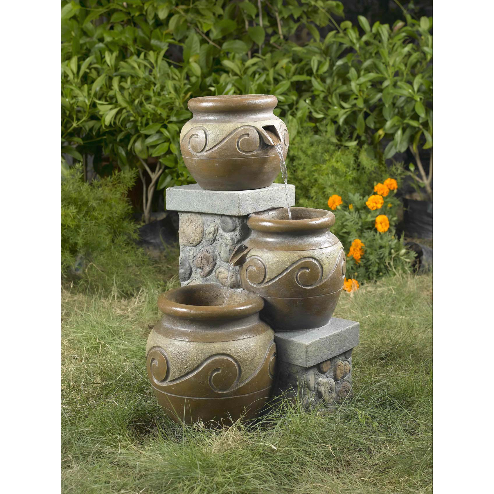 Venice Multi Pot Outdoor Indoor Fountain by