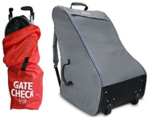 Brica CoverGuard Car Seat Travel Tote with Umbrella Stroller Bag by Brica