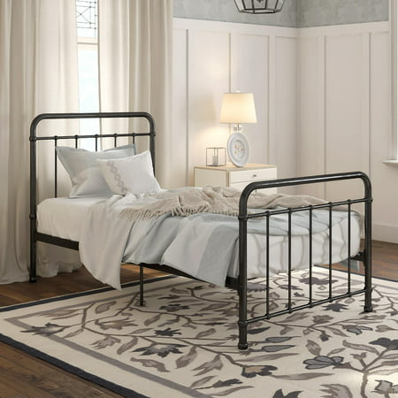 Better Homes & Gardens Kelsey Metal Bed, Multiple Sizes and Colors