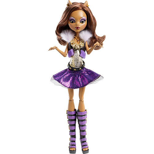 Monster High Ghoul's Alive! Clawdeen Wolf Doll