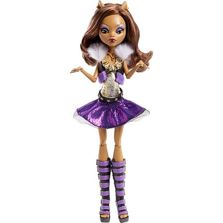 Monster High Ghoul's Alive! Clawdeen Wolf Doll - Monster High Clawdeen Wolf Ghouls Rule Halloween