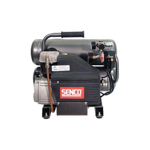 Senco PC1131 2.5 HP 4.3 Gallon Oil-Lube Twin Stack Air Co...
