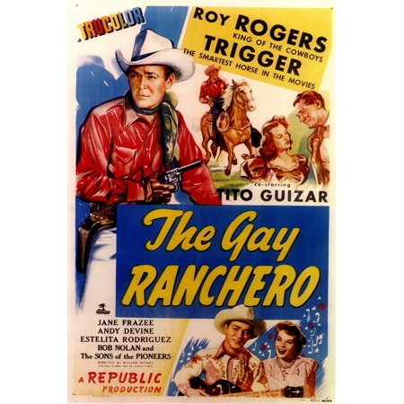 The Gay Ranchero POSTER Movie Mini Promo - G-a-y Halloween London