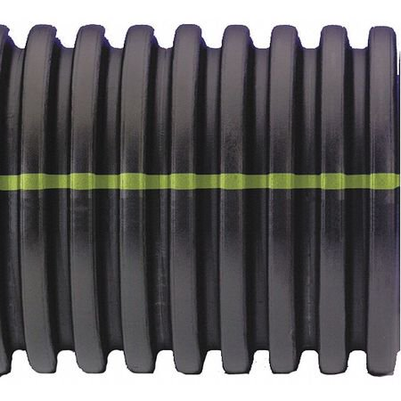 Advanced Drainage Systems - ADVANCED DRAINAGE SYSTEMS Corrugated Drainage Pipe,20ft.L,18in.Di 18510020