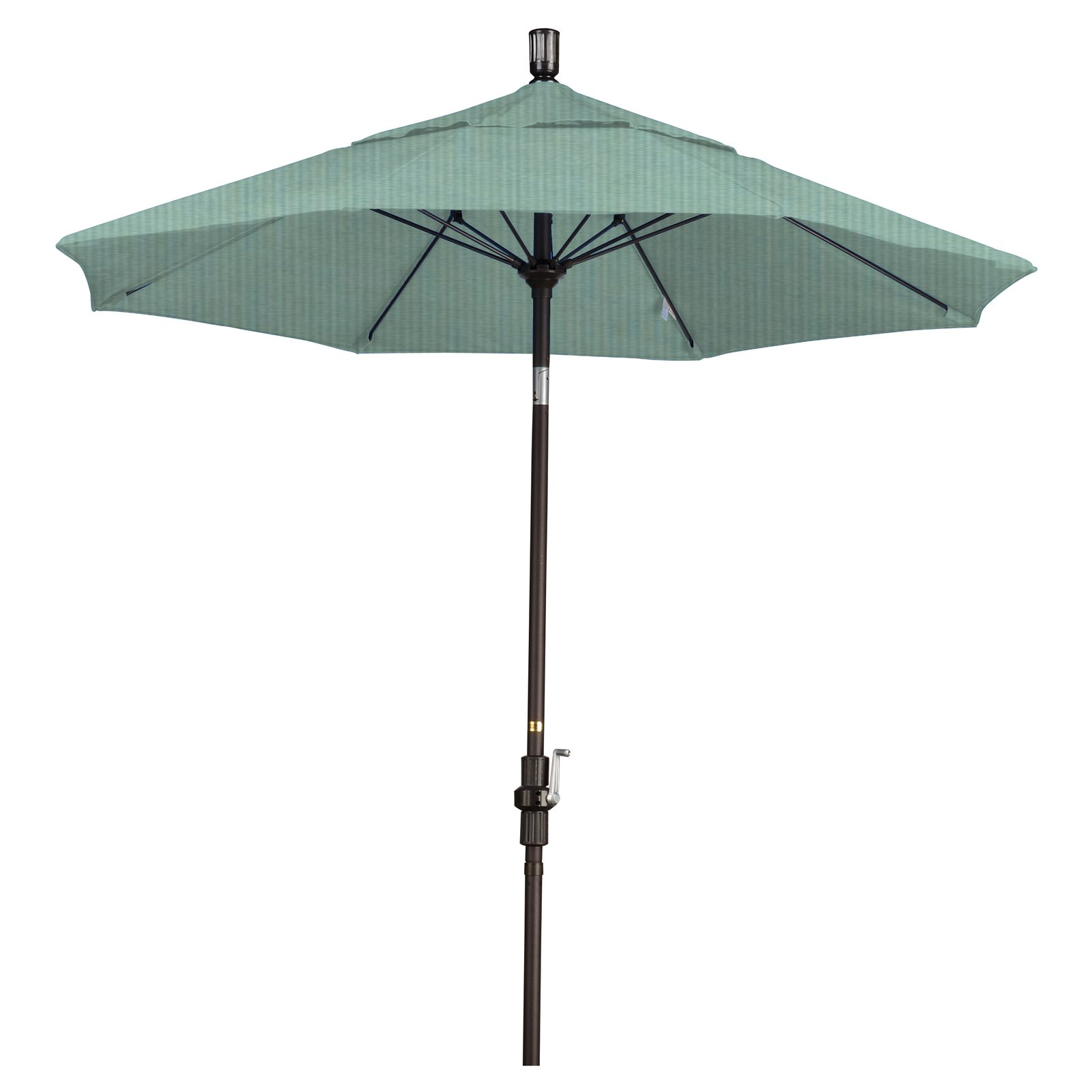 California Umbrella 7.5 ft. Aluminum Collar Tilt Pacifica Patio Umbrella