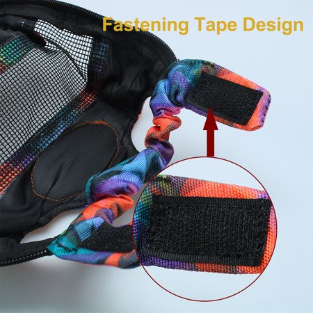 Pet Dog Carrier Front Chest Backpack Puppy Bag Outdoor L Size Colorful Pattern - image 5 of 7
