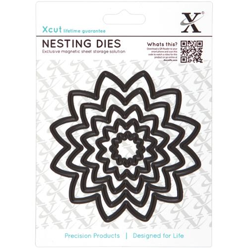 Xcut Nesting Dies-Flower