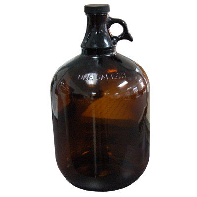 1 Gallon Glass Jug (Amber)