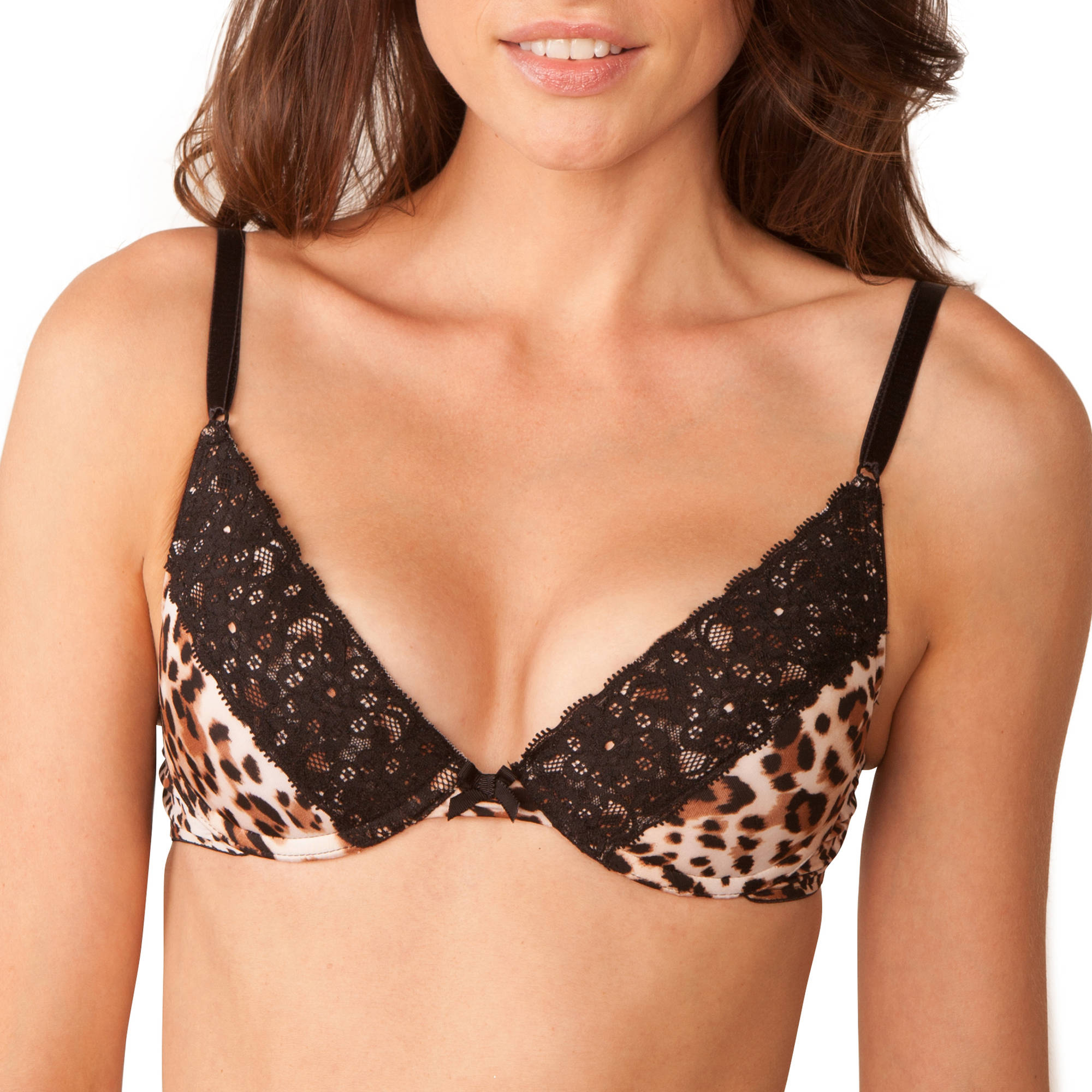 Smart & Sexy Women's Push Up Plunge Bra, Style SA576