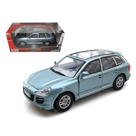 Porsche Cayenne Turbo Grey 1/24 Diecast Car Model by Motormax ()