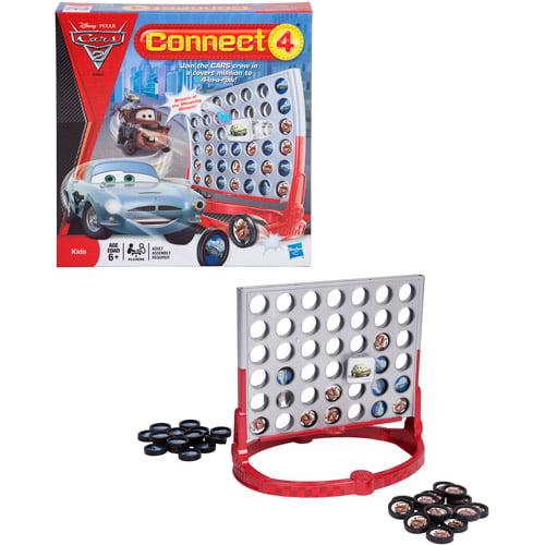 Connect 4 Disney Pixar Cars 2 Edition