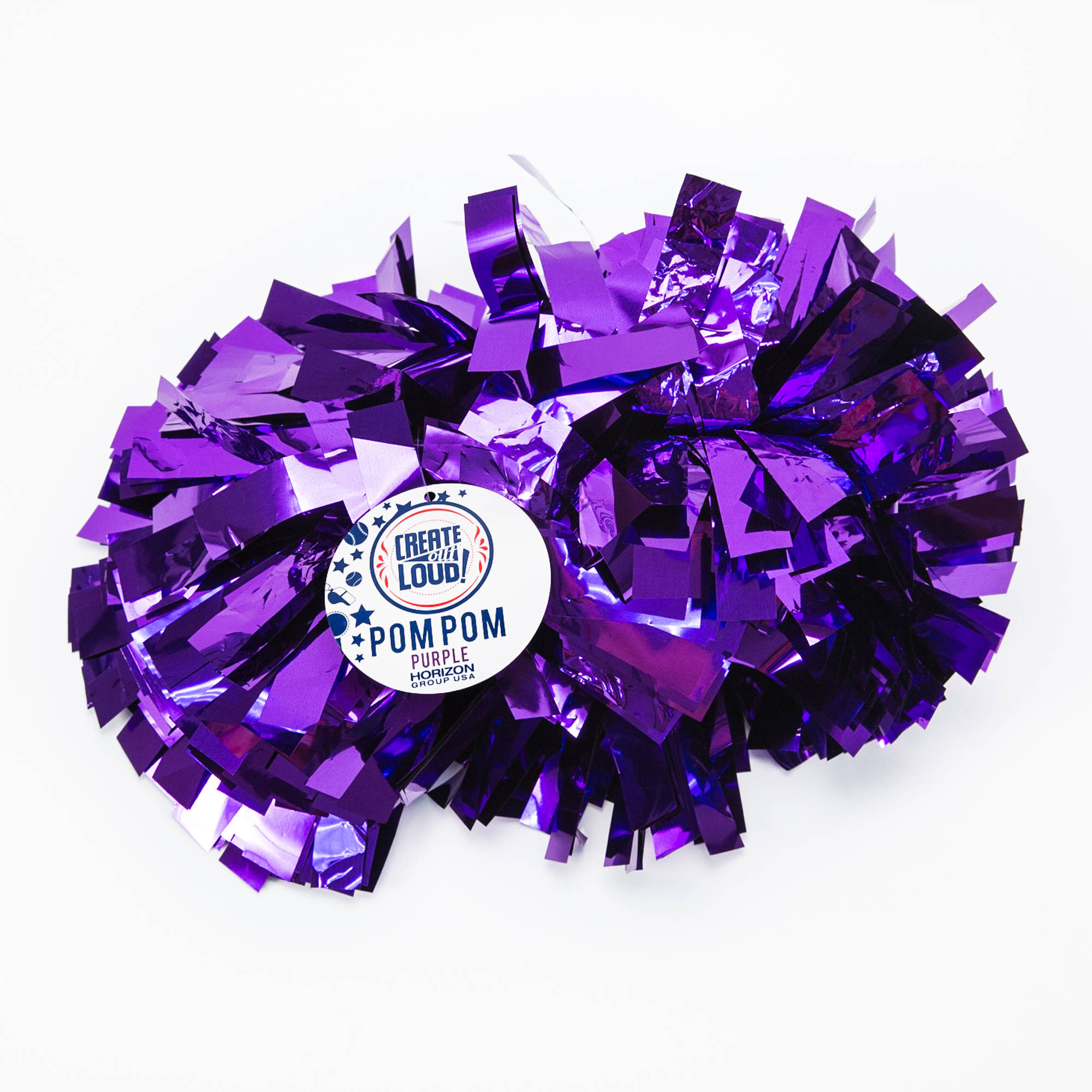 Create Out Loud Purple Pom Pom by Horizon Group USA