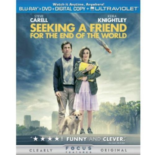 Seeking A Friend For The End Of The World (Bluray + DVD + Digital Copy) (With INSTAWATCH) (Widescreen)
