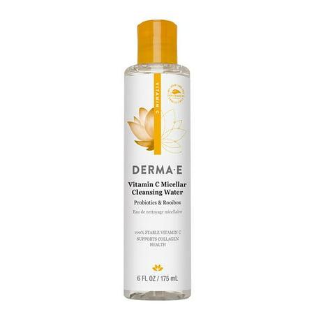Derma E Hydrating Cleanser (Derma E Vitamin C Micellar Cleansing Water, 6 Fl Oz)