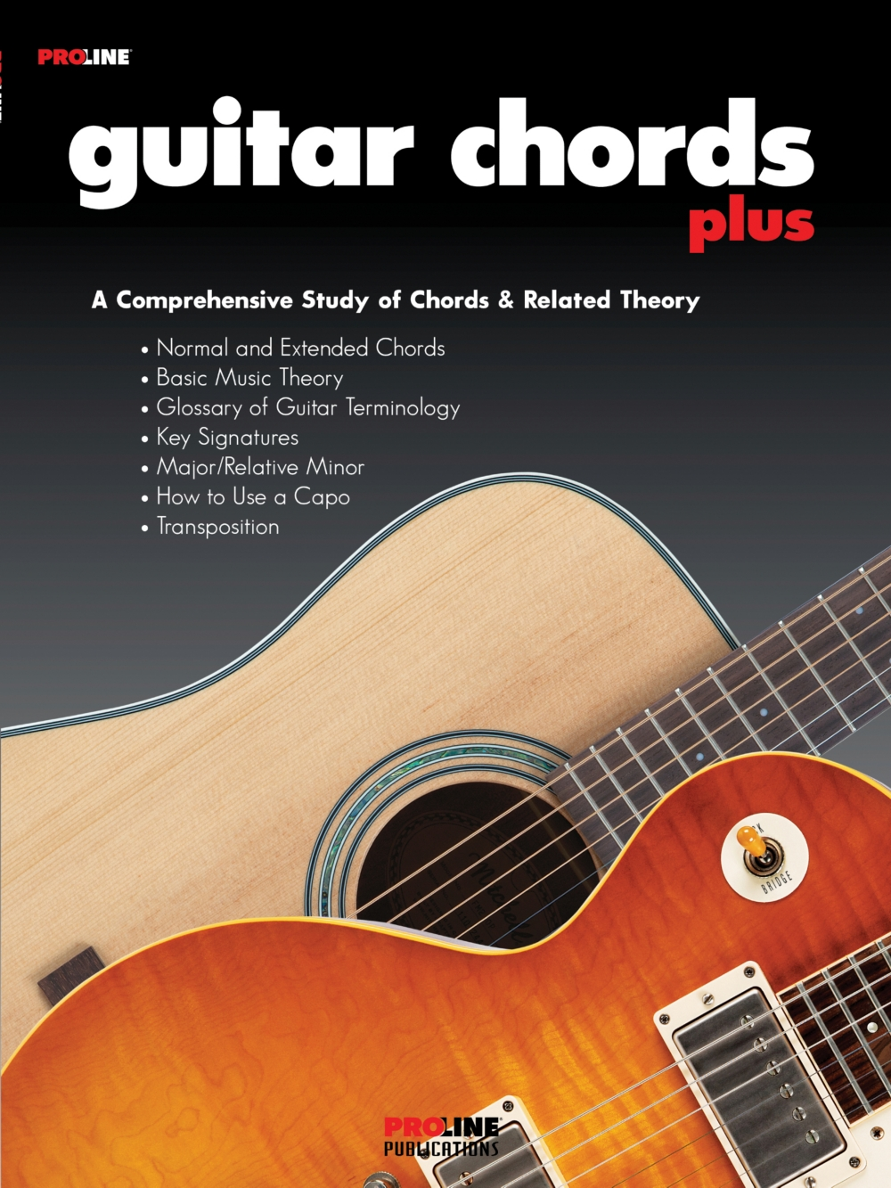 Proline Guitar Chords Plus Book Walmart