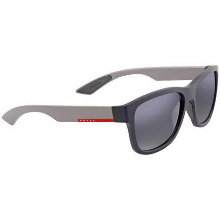 Prada Light Grey Gradient Blue Square Men's Sunglasses PR-PS03QS-UR73A0-57