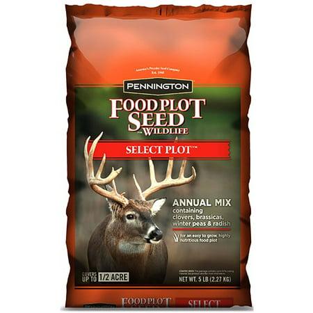 Pennington Wildlife Food Plot Seed Select Plot, Annual Mix, 5