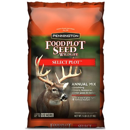 Pennington Wildlife Food Plot Seed Select Plot, Annual Mix, 5 (Select Shed)