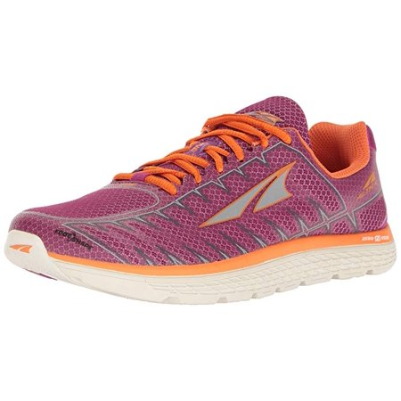 Altra Women's One V3 Road Running Athletic Shoes Purple/Orange