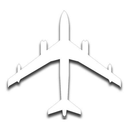 3.8 Inch B47 Stratojet Supersonic Bomber Sticker (Boeing B47 Stratojet Bomber)