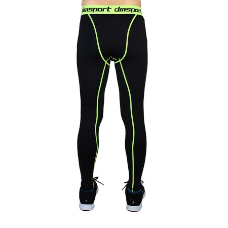 5a842ee00b125 Men Sports Compression Tights Running Long Pants W28 - image 4 of 5 ...