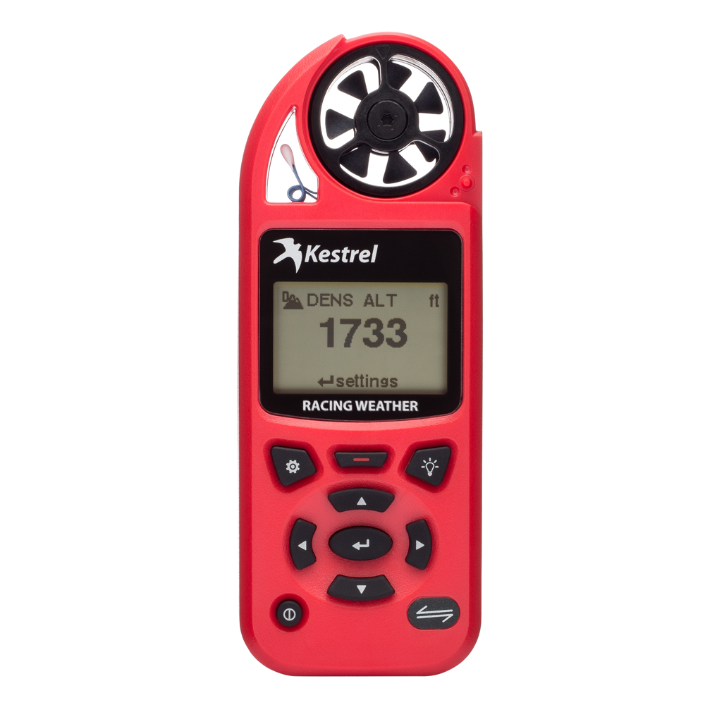 Kestrel 5100 Red Pocket Handheld Racing Weather Meter - 0851RED