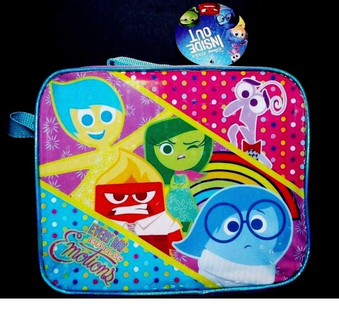 Lunch Bag - Disney - Inside Out Kit Case Movie New 300263
