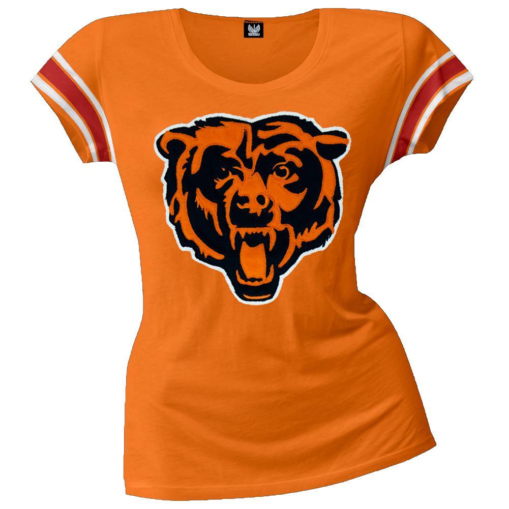 Chicago Bears - Off-Campus Juniors Premium Scoop T-Shirt