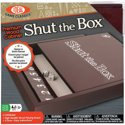 Ideal Premium Wood Cabinet Shut the Box Board Game