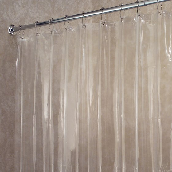 InterDesign Vinyl 4.8 Shower Curtain Liner - Walmart.com