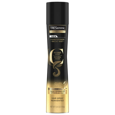 TRESemmé Hairspray Compressed Micro Mist Curl Hold Level 2 5.5 OZ