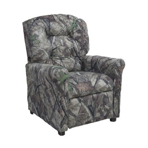 Brazil Furniture HTC Camo Kids Recliner