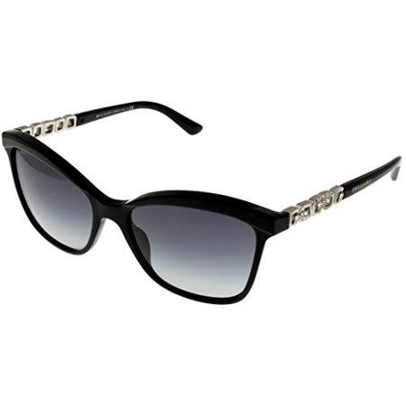 Bvlgari Sunglasses Womens Sand Black Cateye BV8163B 501/8G Size: Lens/ Bridge/ Temple: 56_17_140