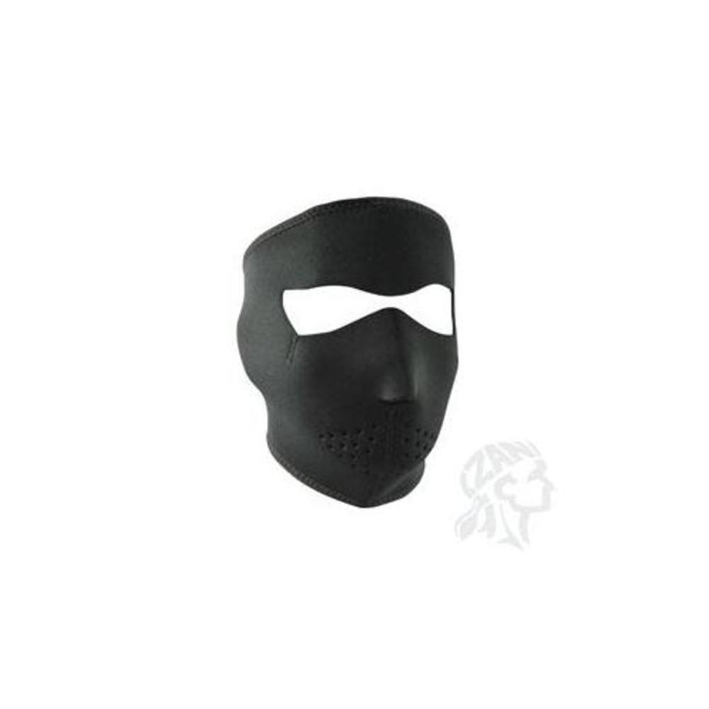 Zan Headgear Full Face Mask (Black, Oversize) by Zan Headgear