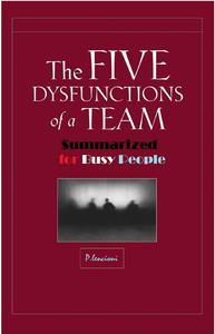 5 Dysfunctions Of A Team Ebook